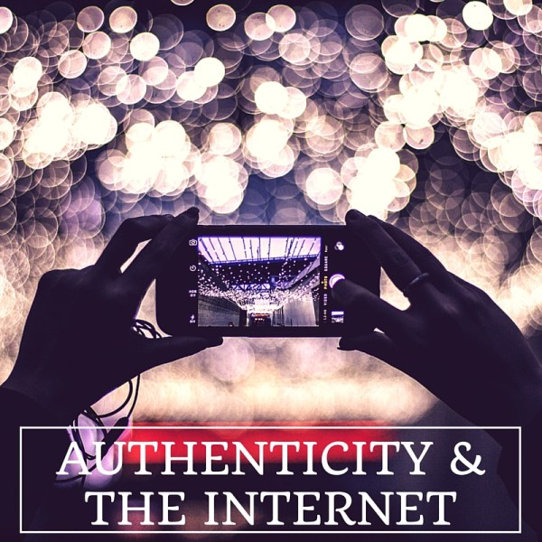 Authenticity and the internet