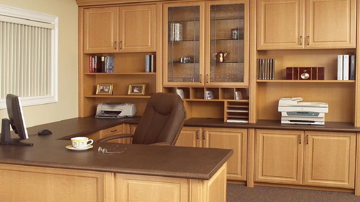 Custom Home Office Cabinets Built In Desk Cabinets So Cal Ca