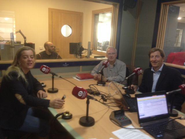 Programa de Marketing con Conrado en la radio