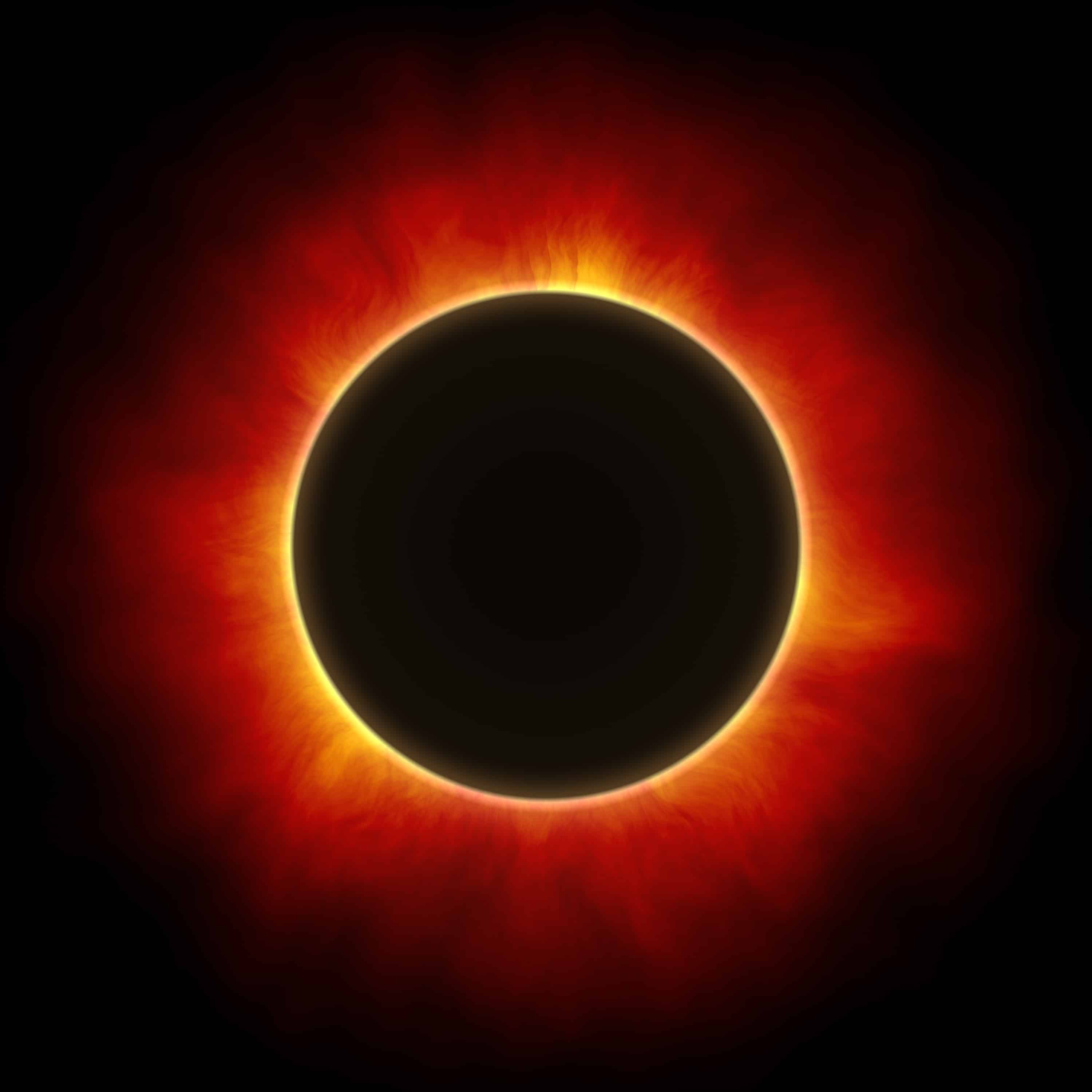 Sol A Clipser Solar Eclipse Consumes What You Want To Release
