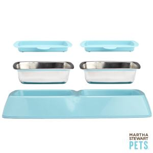 Marthat Stewart Pets double feeder