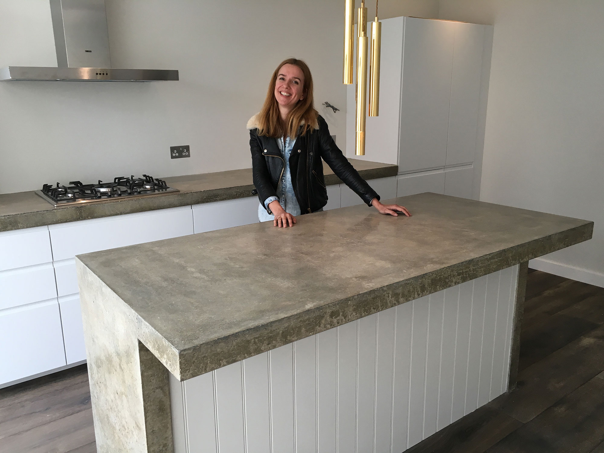 Concrete Countertop Polisher Polished Concrete Worktops Countertops And Work Surfaces