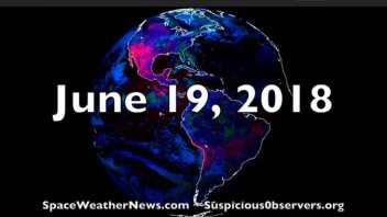 Earthquake Risk, Flurry of Sunspots, Climate Report | S0 News Jun.19.2018