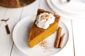 No-Bake, Vegan, Gluten Free Pumpkin Pie