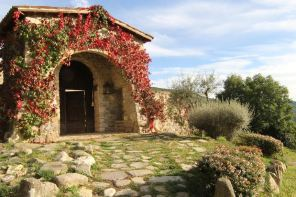 A Luxe Monastery Retreat: Umbria's Eremito Hotel