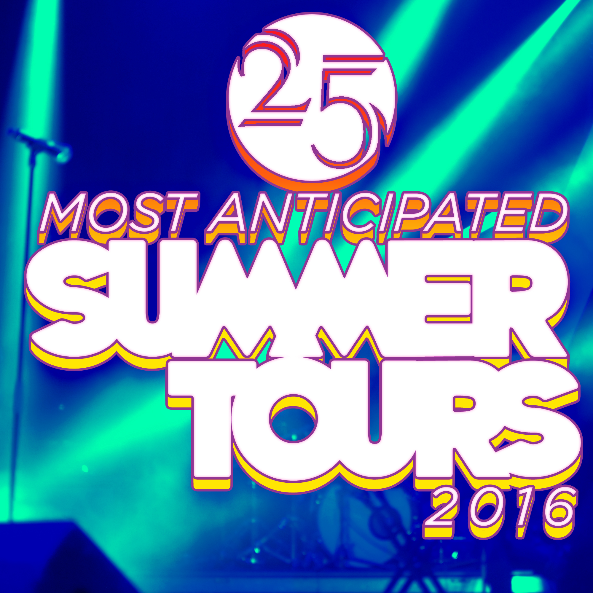 Tivoli Audio Ottawa The 25 Most Anticipated Tours Of Summer 2016 Consequence Of
