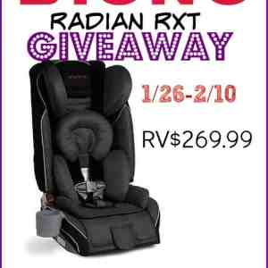Diono Radian RXT Car Seat Review & Giveaway ends 2/10