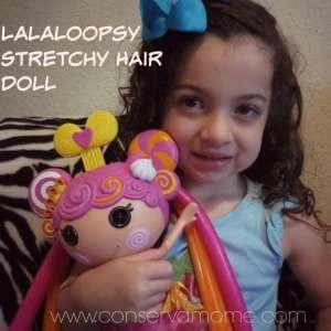 Lalaloopsy Stretchy Hair Doll Review
