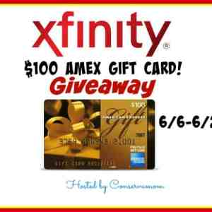 Xfinity's New Voice Remote & $100 AMex Gift Card Giveaway ends 6/26