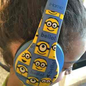 iHome Despicable ME Minion Over the Ear Headphones Review