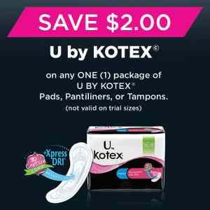 Save Big With U by  Kotex Products & CVS #ConfidenceUDeserve
