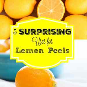5 Surprising Uses for Lemon Peels