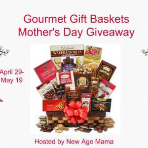 Gourmet Gift Baskets Mother's Day Giveaway ends 5/19