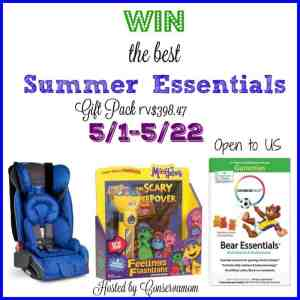 Summer Essential Giveaway (RV$398.47) ends 5/24