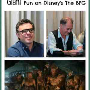 Mark Rylance & Jemaine Clement:  Giant Fun on Disney's The BFG