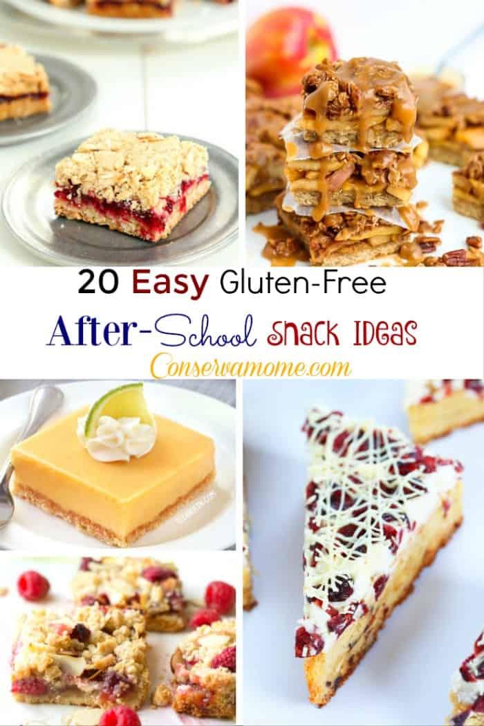 Easy Glutenfree After School snack ideas