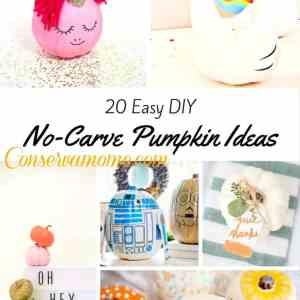 20 Easy DIY No-Carve Pumpkin Ideas