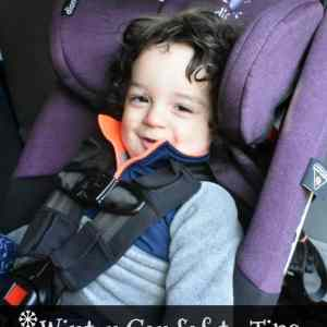 Winter Car Seat Safety Tips from diono + Giveaway