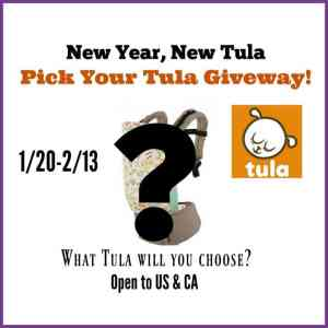 Pick Your Own Tula Giveaway Ends 2/13