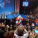 Leading EU conservatives speak at FN rally in France