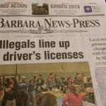 "Latino militants demand Newspaper censor the word ""illegal"""