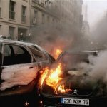Media Blackout: Muslim immigrants torch 1,000 cars in France