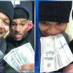 Gangbangers post selfies to the icloud with stolen ipad.