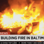 Looting and arson begins in Baltimore, cops flee from rioters