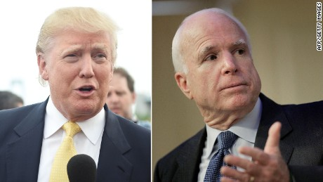 Trump:  John McCain cares more about Iraq's border than Arizona's border