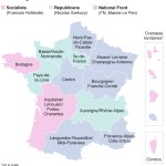 Nation Front could rule 6 out of 13 French administrative regions.