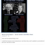 Potential terrorist James Howell supported Bernie Sanders on Facebook
