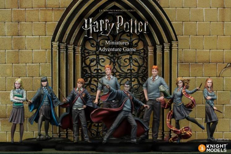 Juegos De Mesa Con Dados Harry Potter Miniatures Adventure Game Cambia Su Modelo De