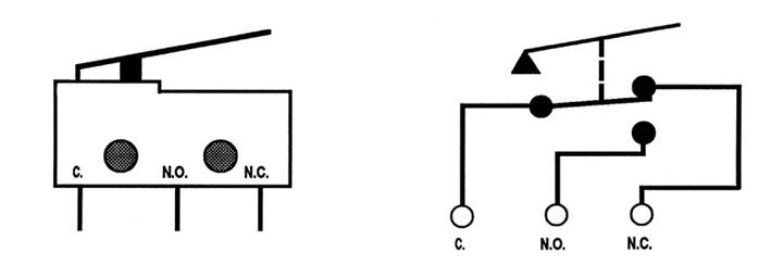switch diagrama de cableado symbols