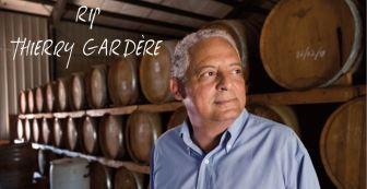 Thierry Gardère, à la tête de la société du rhum Barbancourt depuis 1990, est décédé aujourd'hui.