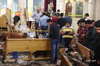 Egypte : Deux attentats ont fait plus 40 morts ce dimanche, le président déclare l'état d'urgence pour trois mois
