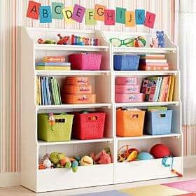 organizacao dos brinquedos das criancas