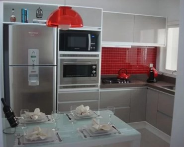 cozinha sob medida decorada