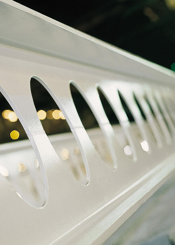 ACB® - cellular steel beams with circular openings - Constructalia