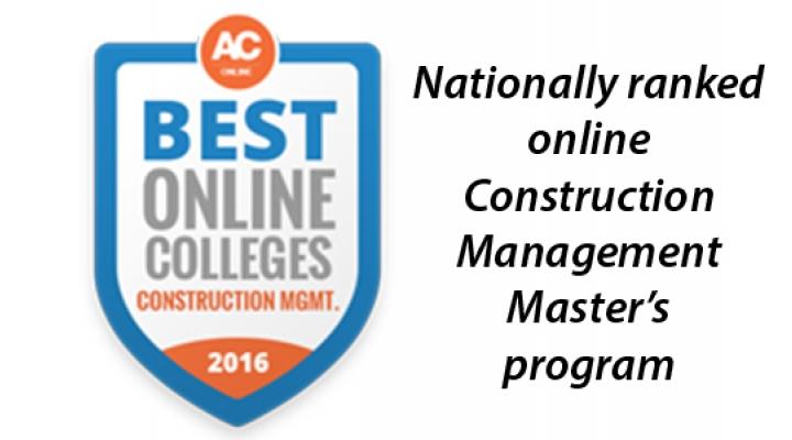 Online Construction Management Master\u0027s Degree Construction