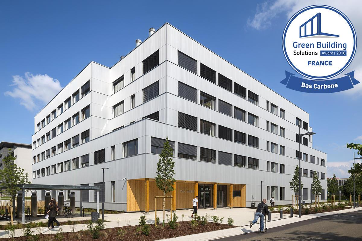 Solution Batiment Structure France Batiment Max Weber Université Paris Ouest Nanterre La