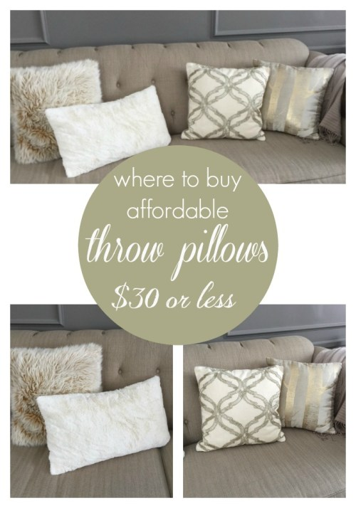 Throw Pillows for under $30