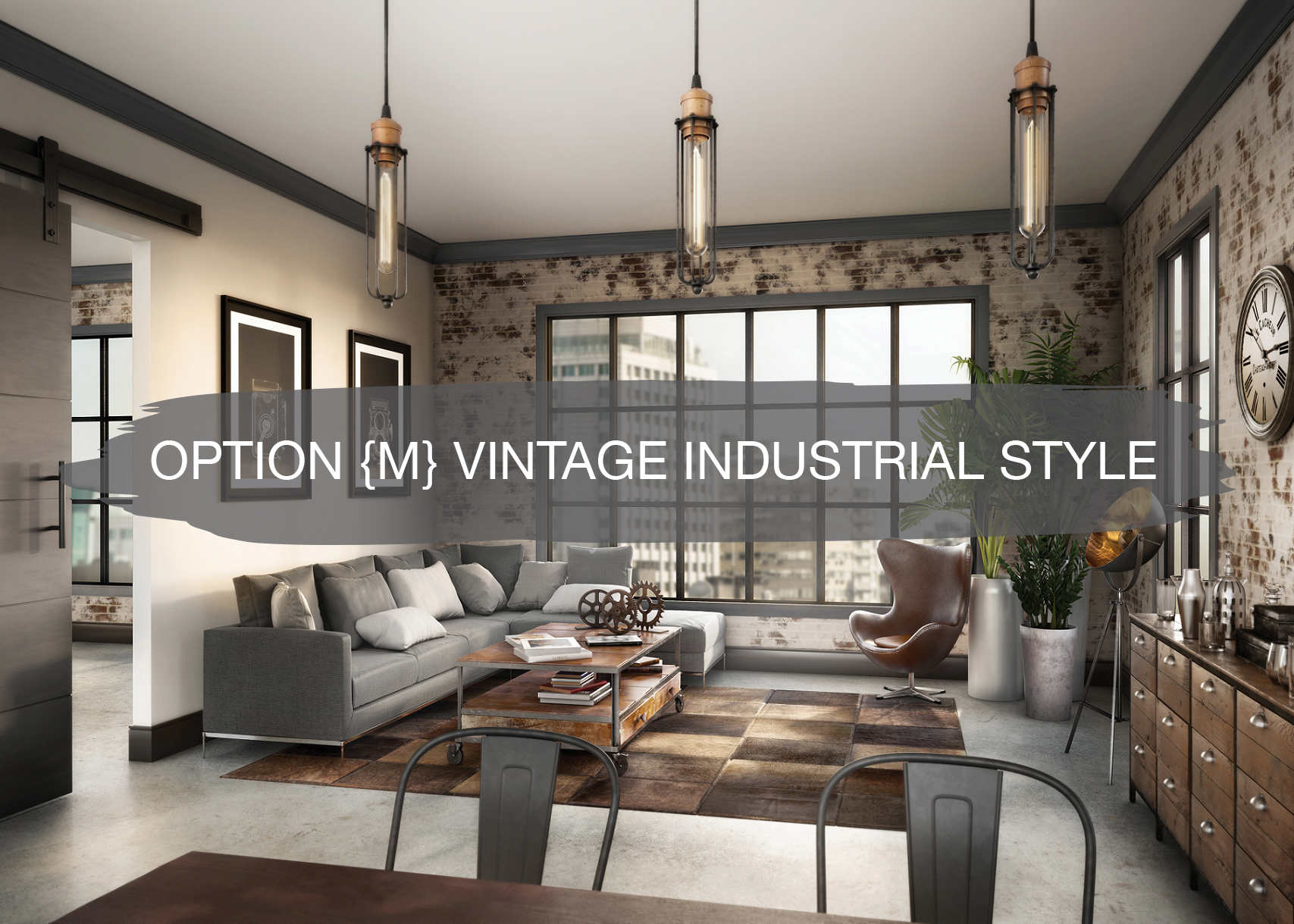 Vintage Industrial Style Option M Vintage Industrial Style Construction2style