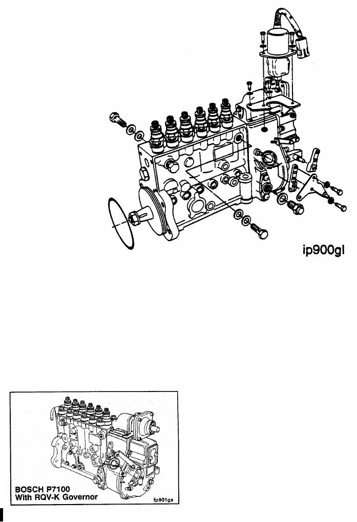fuel injection pump diagram p7100 fuel pump diagram