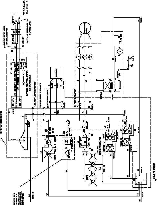 208 circuit wiring
