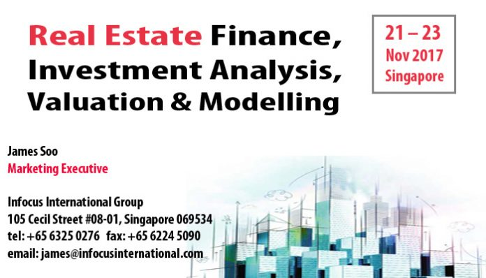 Real Estate Finance, Investment Analysis, Valuation  Modelling 21