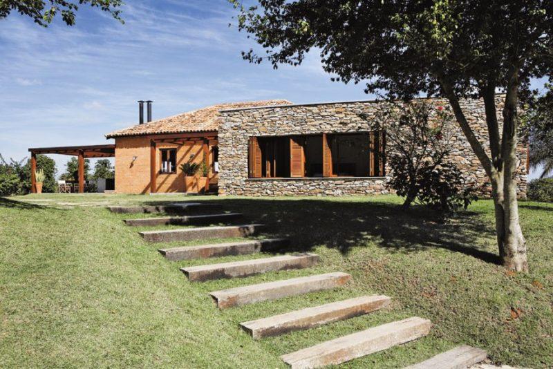 Casa De Campo Fachadas Fotos Modelos E Projetos
