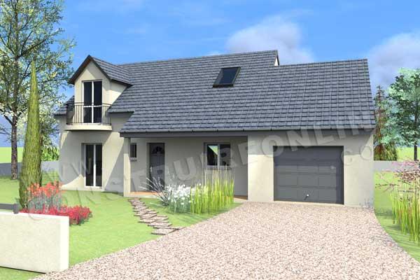Vente de plan de maison - Plan De Maison En 3d