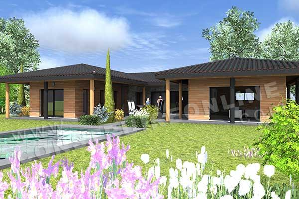 constructeur maison le cellier loire atlantique 44 Architecture