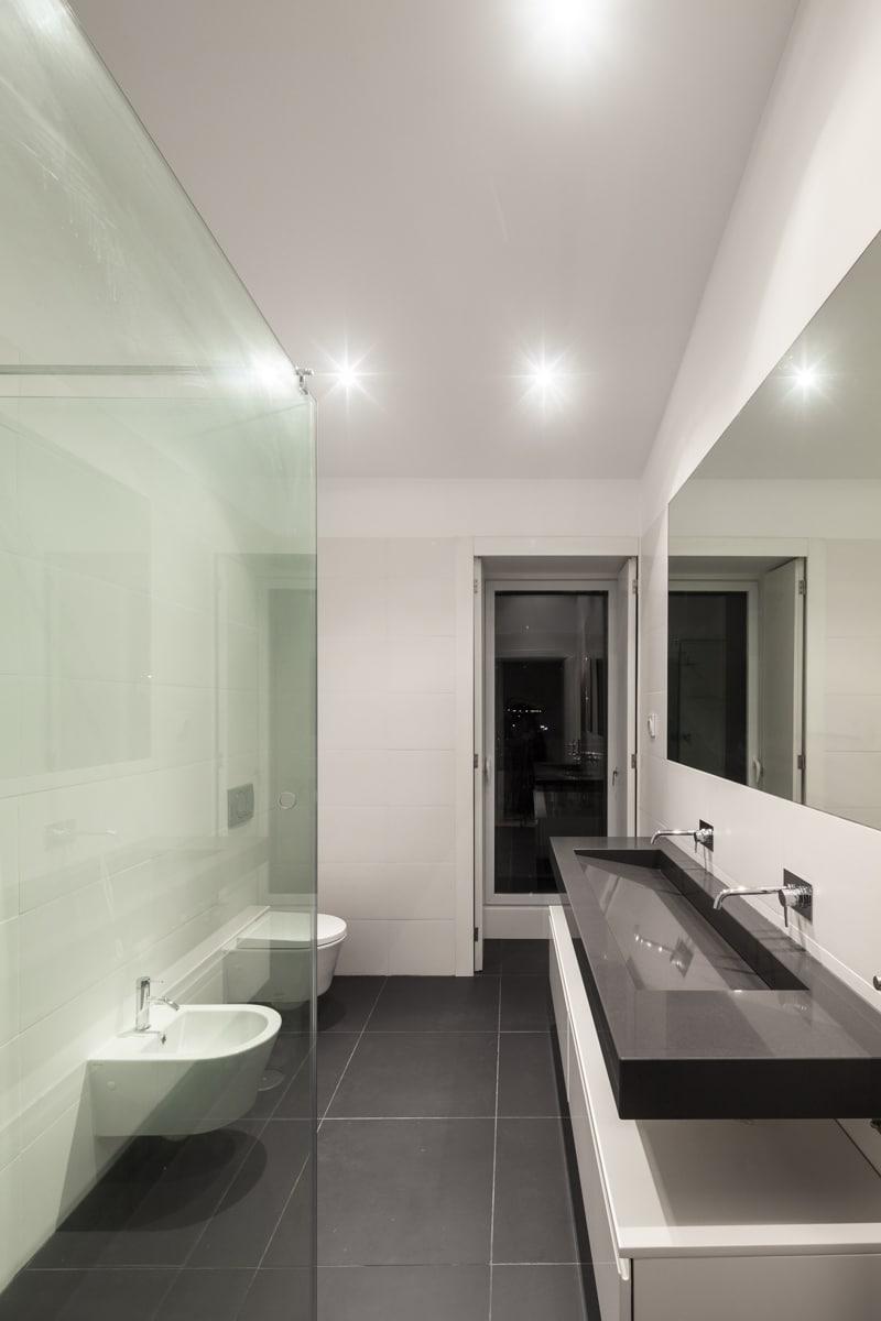 Cuartos De Baño Modernos Blancos | Cuartos De Baño Marmol Blanco