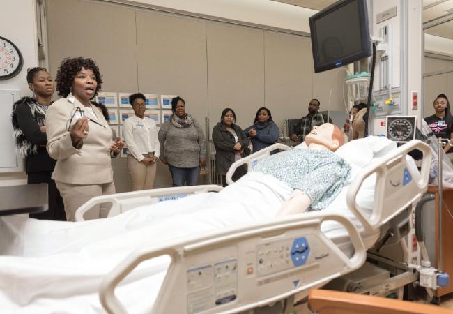 Helping High School Students \u0027Aspire\u0027 to the Nursing Profession - high school job shadowing